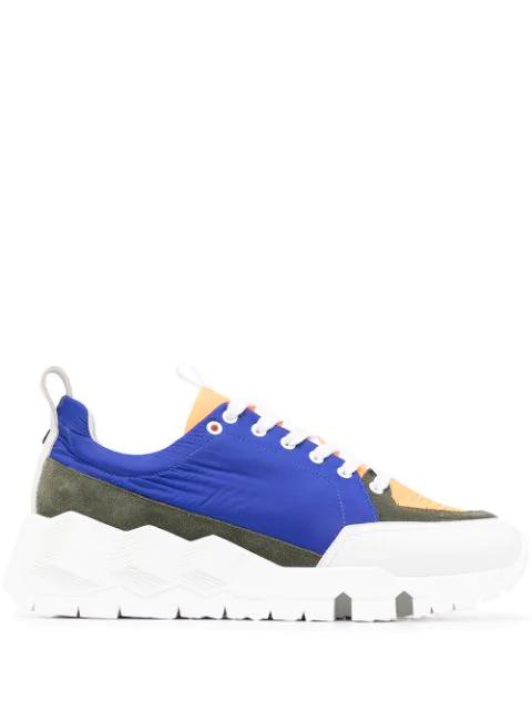 Pierre Hardy Street Life Sneakers In Multicolour