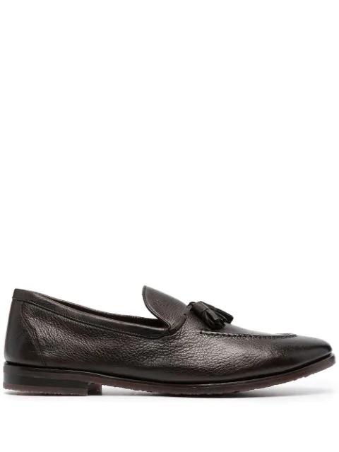 Henderson Baracco Tassel Detail Loafers In Brown