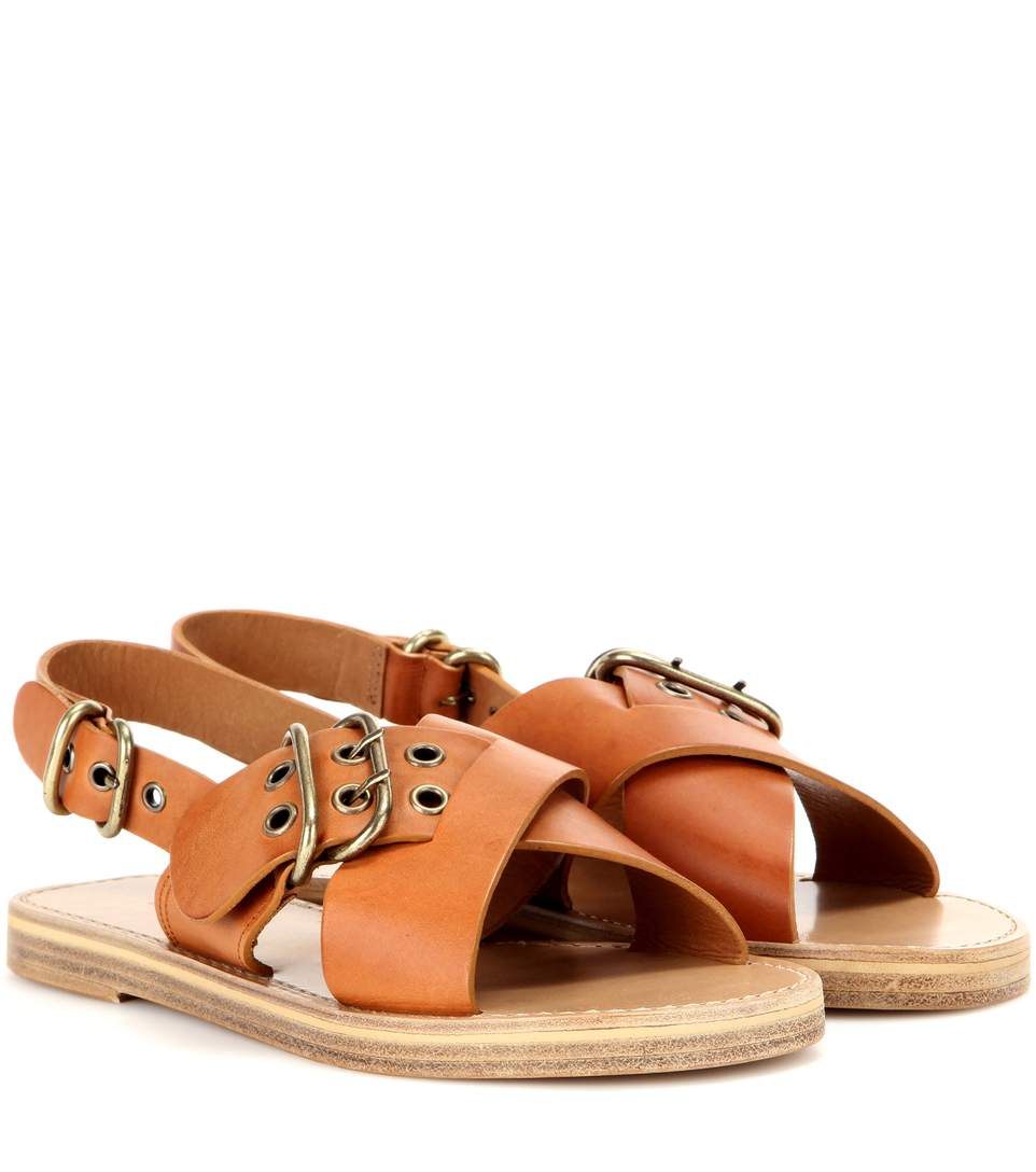 Crossover SandalsModeSens Isabel Marant ÉToile Leather Jaden W9DIeHbE2Y