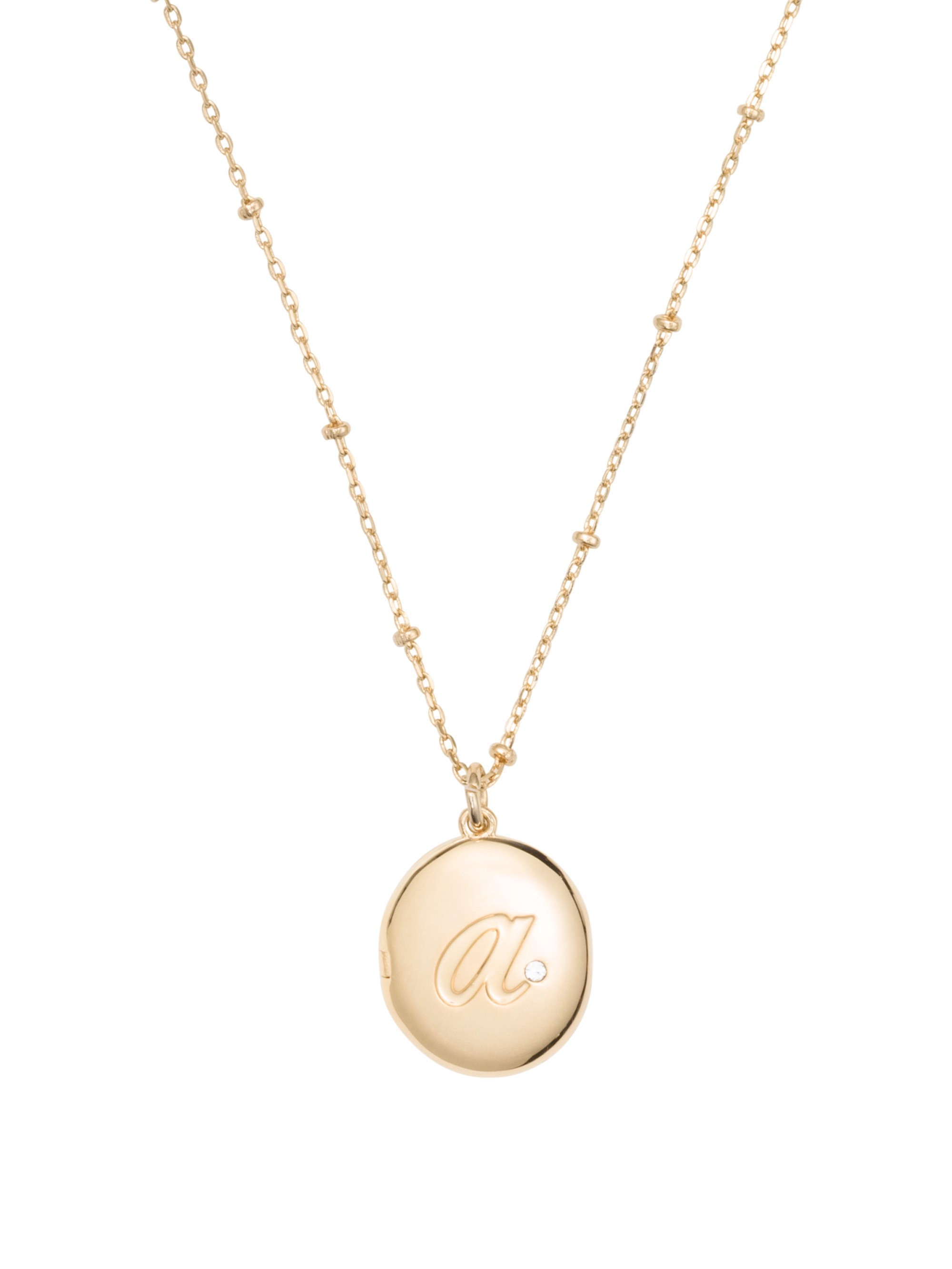 Kate Spade Forever Mine Initial Locket In A