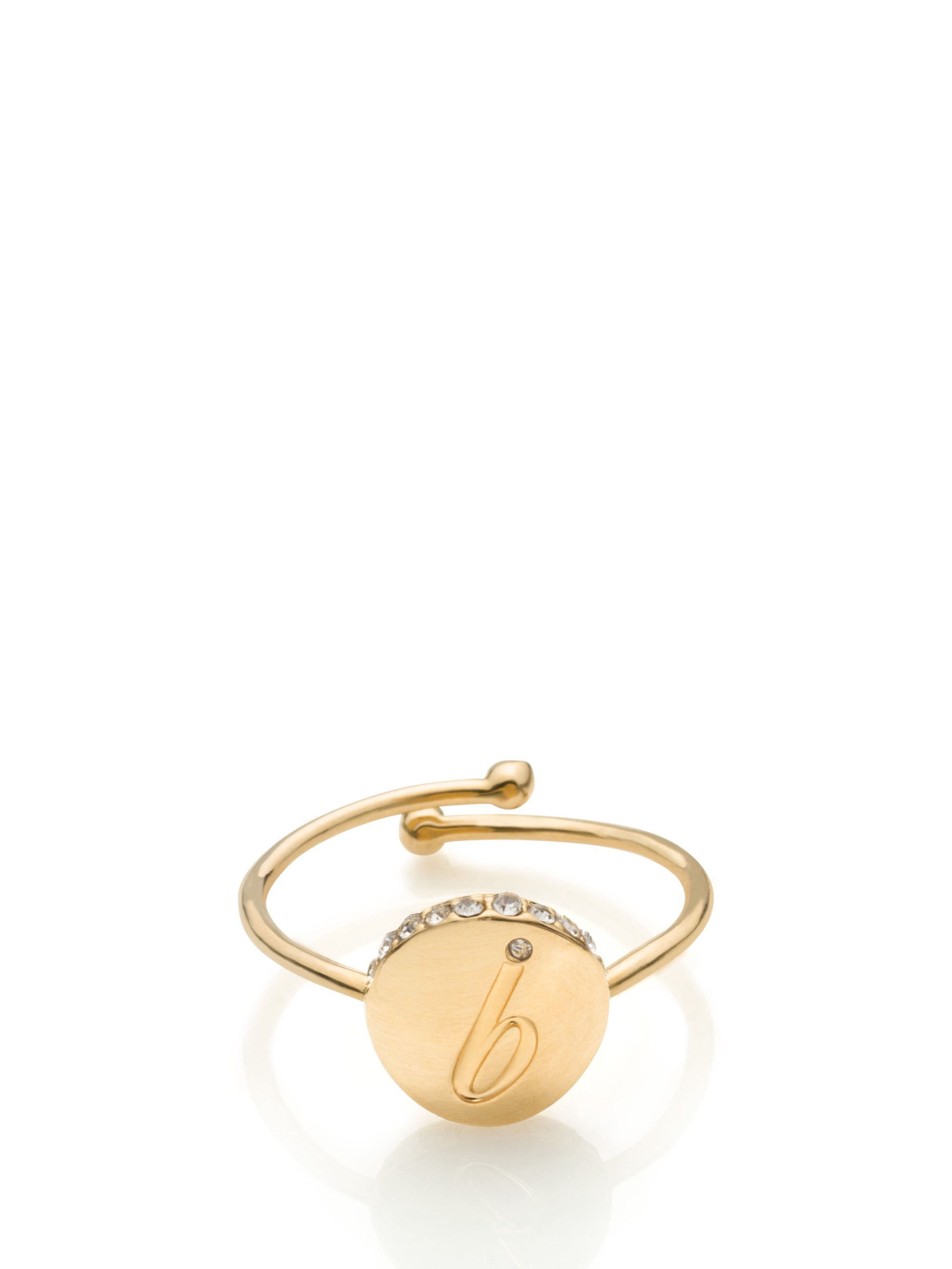 Kate Spade Forever Mine Initial Ring