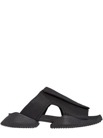 Rick Owens X Adidas Men S Velcro Strap Ro Clog Sandals In Black