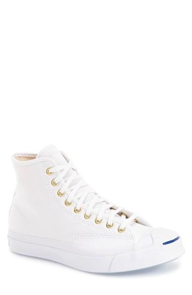 400f0c68a7b22f Converse  Jack Purcell - Jp Signature  High Top Sneaker (Men) In White