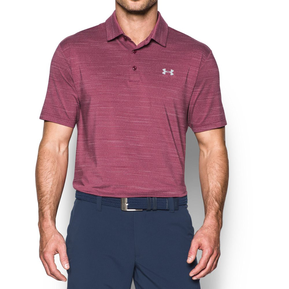 6c8a019f22e1 Under Armour Men's Ua Playoff Polo in Black Currant (924)