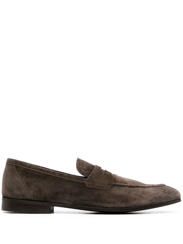 Henderson Baracco Penny Slip-on Loafers In Brown