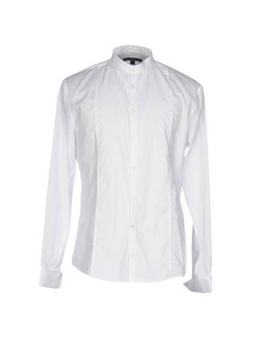John Varvatos Solid Color Shirt In White