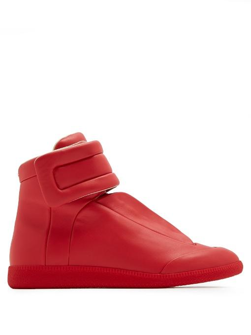 8572cdff3ab Future high-top leather trainers