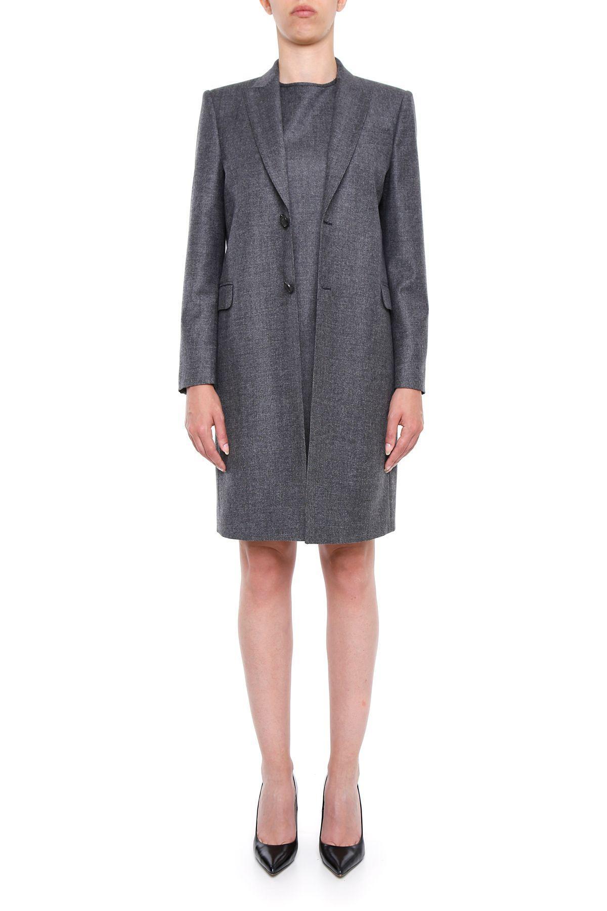 Dsquared2 Wool Suit In Greygrigio