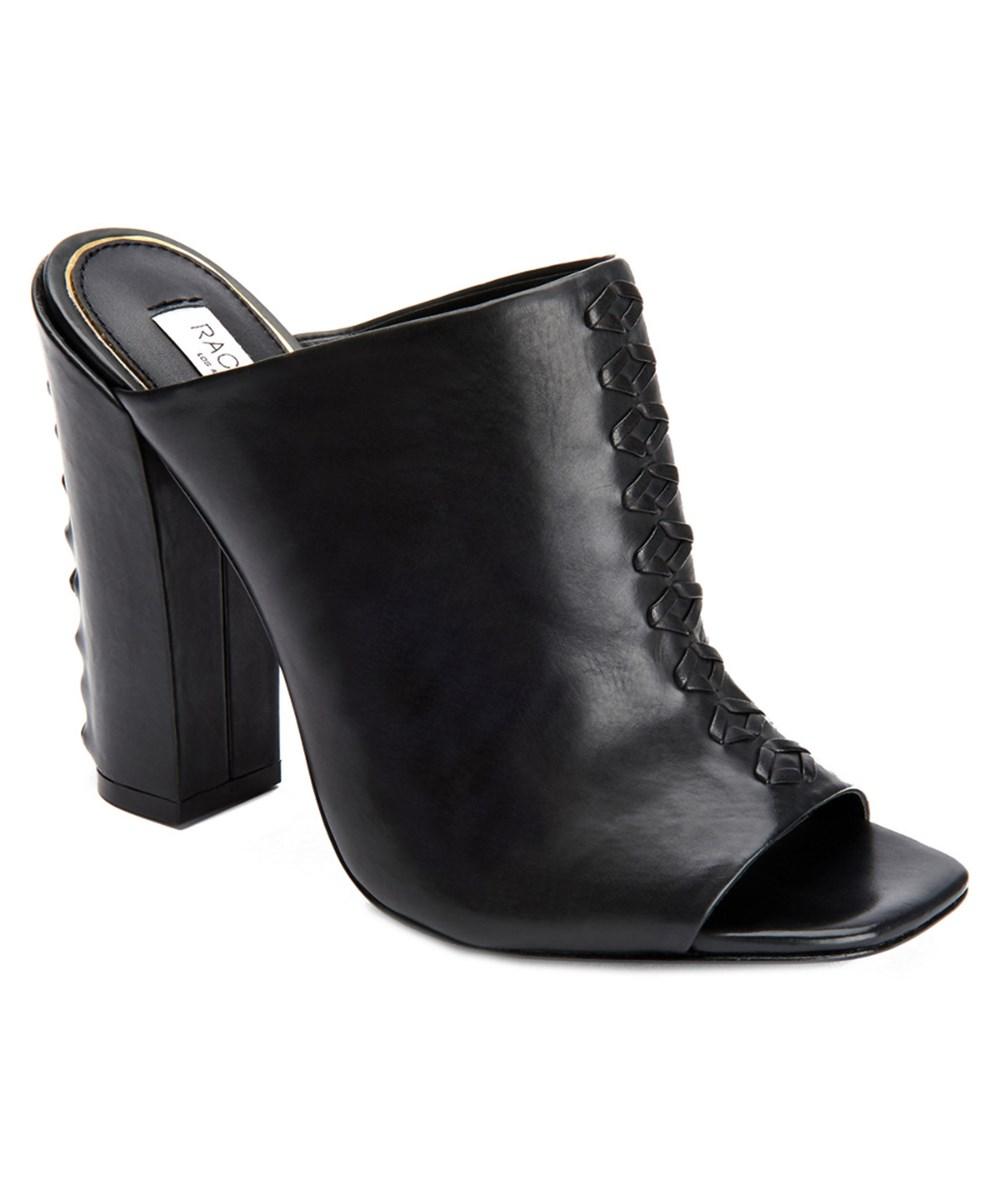 Rachel Zoe Salana Leather Mule In Black