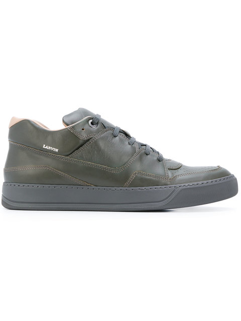 Lanvin Lace-up Sneakers - Green