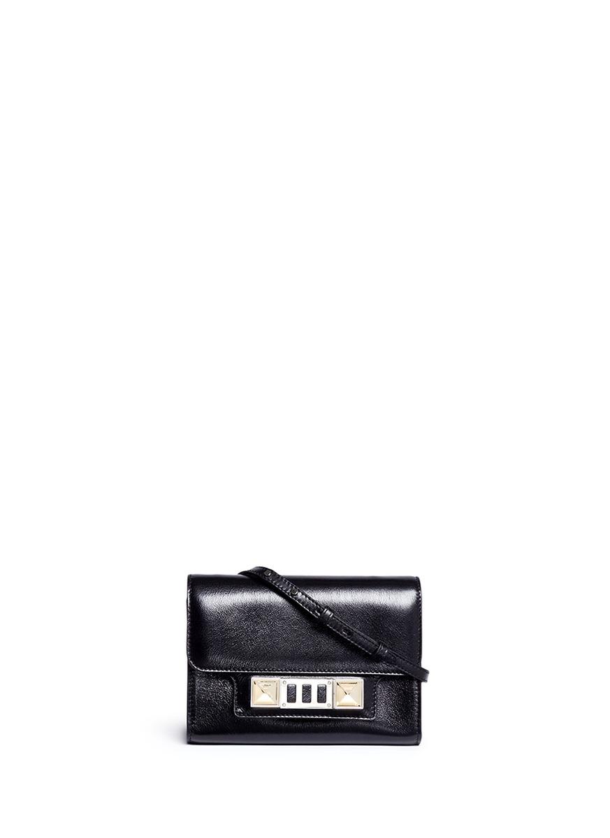 Proenza Schouler 'ps11' Inverted Stud Leather Wallet
