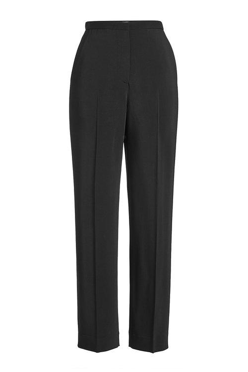Rosetta Getty Straight Leg Pants In Black