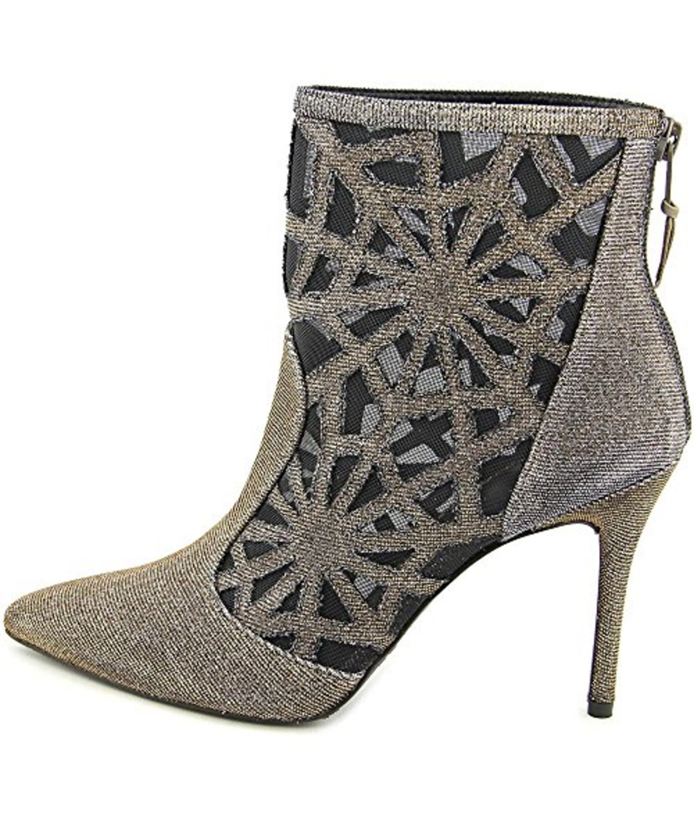 Stuart Weitzman Womens Bestinshow Pointed Toe Ankle Fashion Boots In Grey