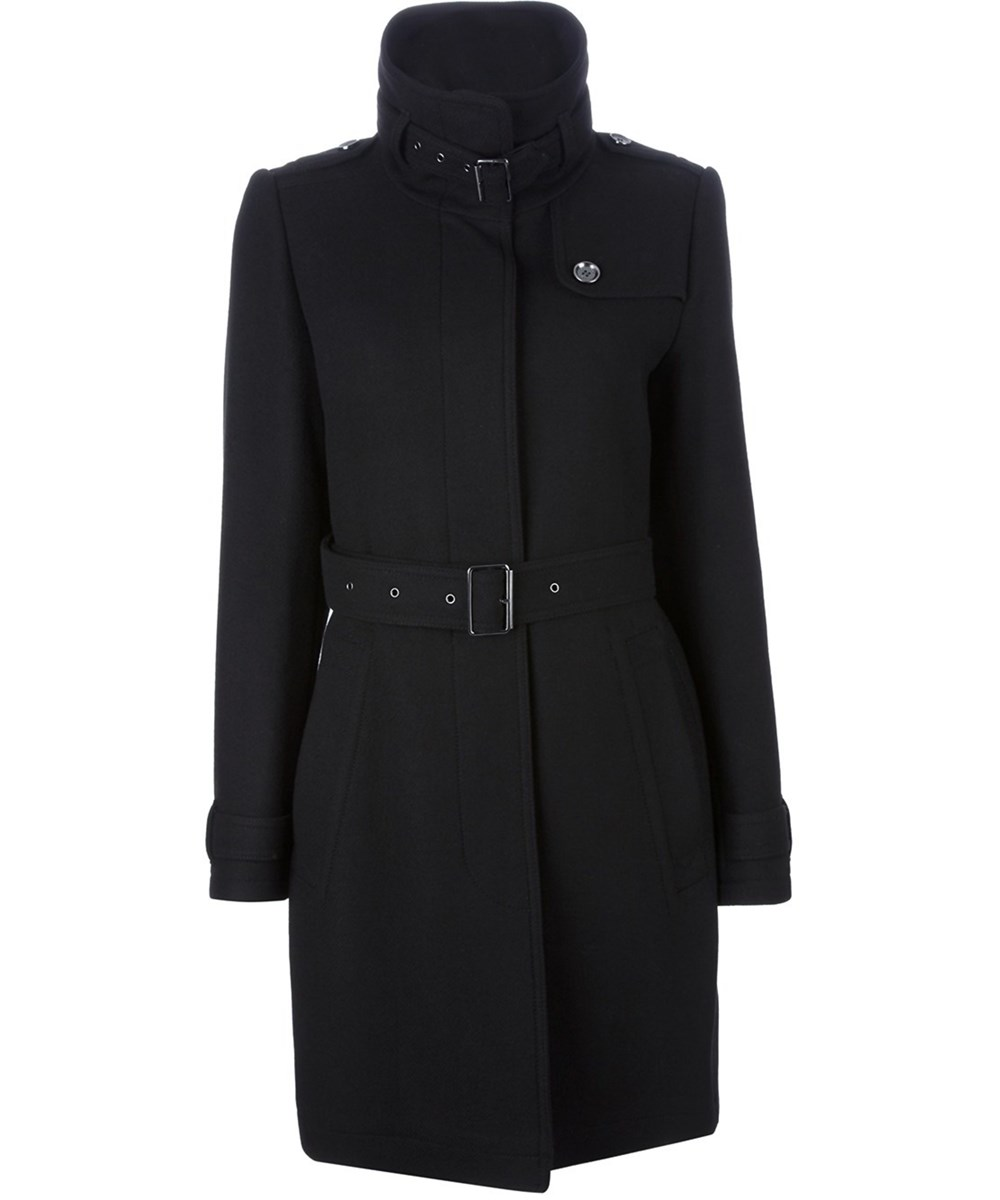 Burberry Women's  Black Wool Coat