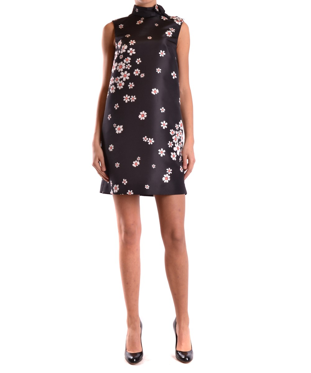 Red Valentino Women's  Black Polyester Dress