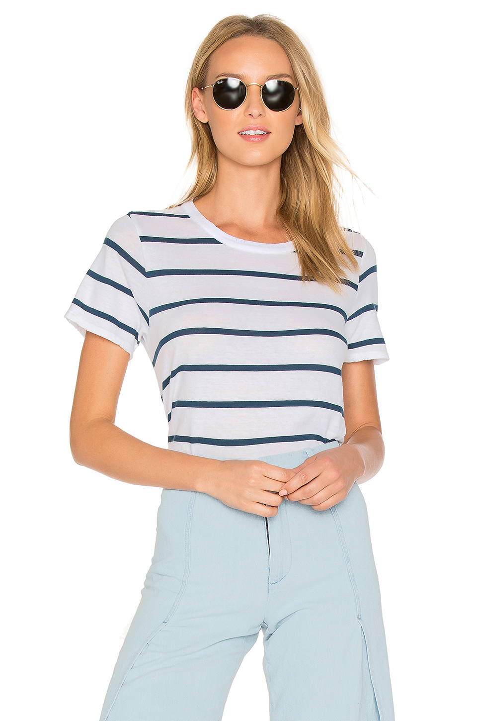 Chaser Easy Tee In Navy