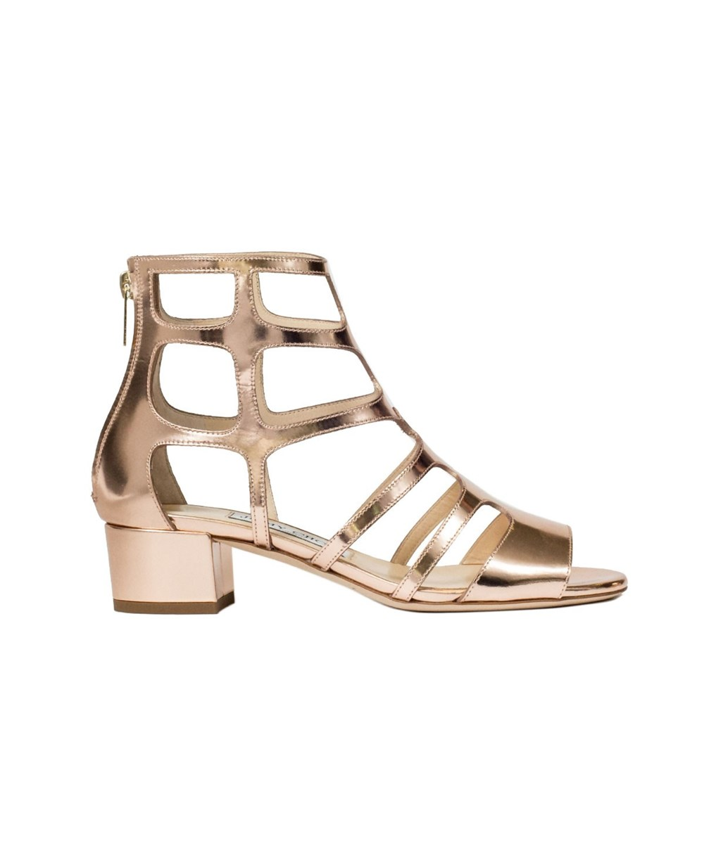 Jimmy Choo Women's  Pink Leather Sandals
