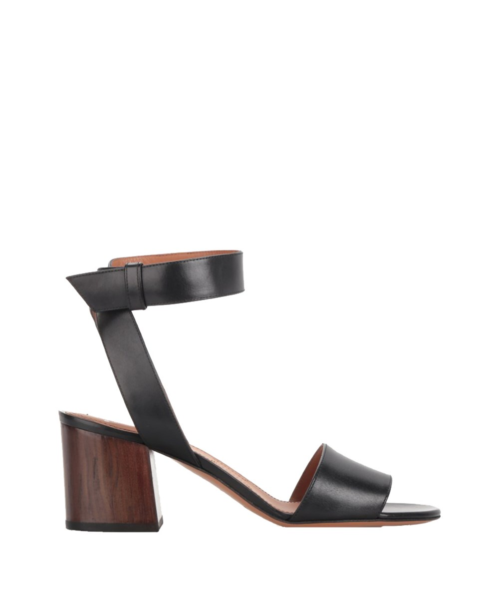 Givenchy Women's  Black Leather Sandals