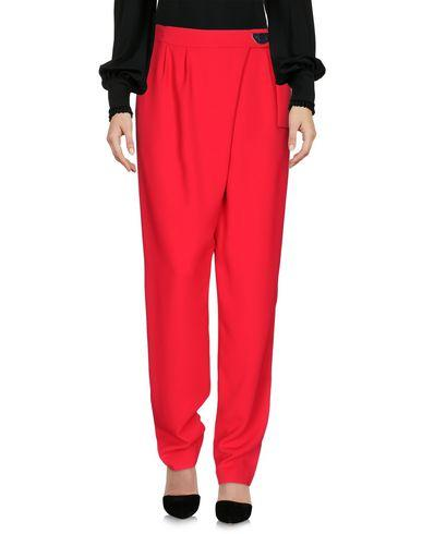 Pinko Casual Pants In Red