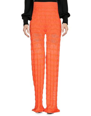 M Missoni Casual Pants In Orange
