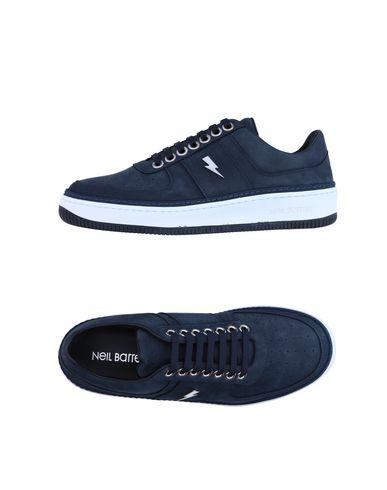 Neil Barrett Sneakers In Dark Blue