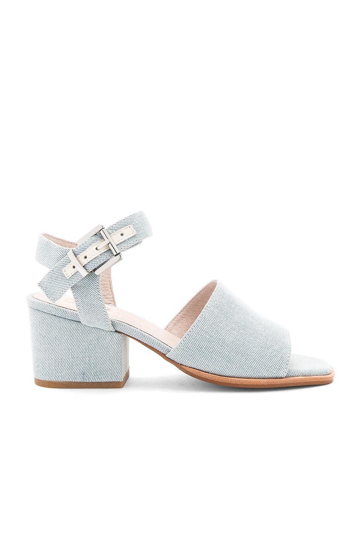 Sol Sana Kristian Heel Sandals In Baby Blue