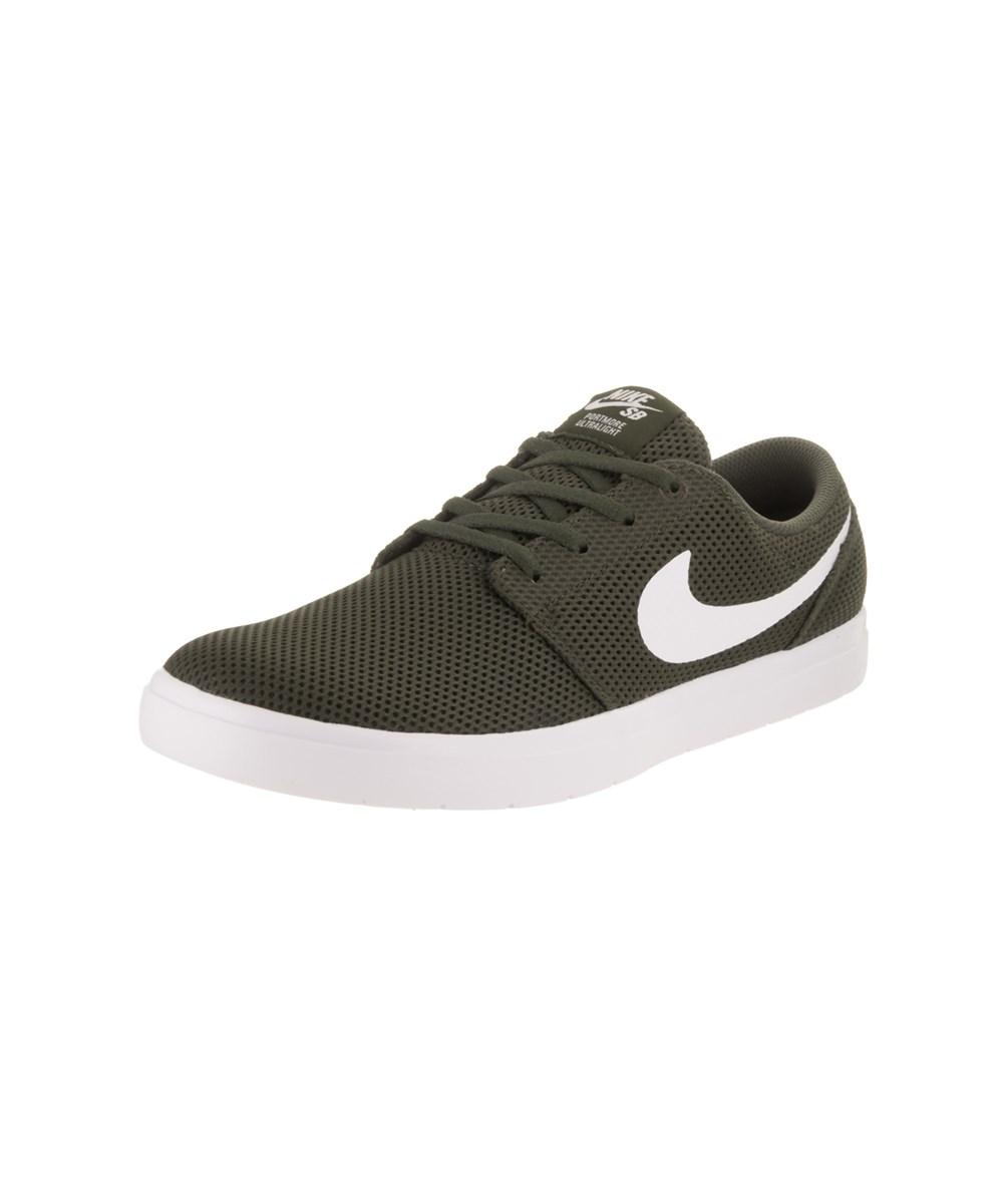 1e510dd9c85bf Nike Men's Sb Portmore Ii Ultralight Skate Shoe in Green