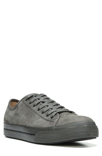 Vince Toby Men's Nubuck Leather Low-top Sneaker In Barley Nubuck