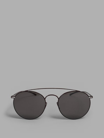 Maison Margiela Aviator Red Frame With Black Lenses Sunglasses