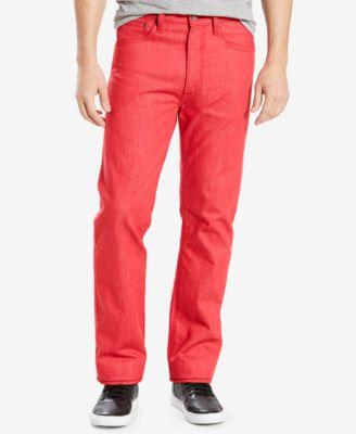 Levi's Levi's® 501® Original Shrink-to-fit™ Jeans In Red Dahli