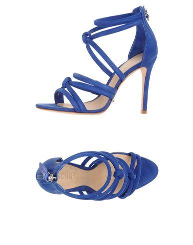 Schutz Sandals In Blue