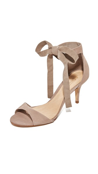 Schutz Tilan Wrap Pumps In Neutral