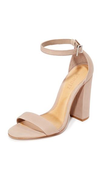 Schutz Enida Sandals In Neutral
