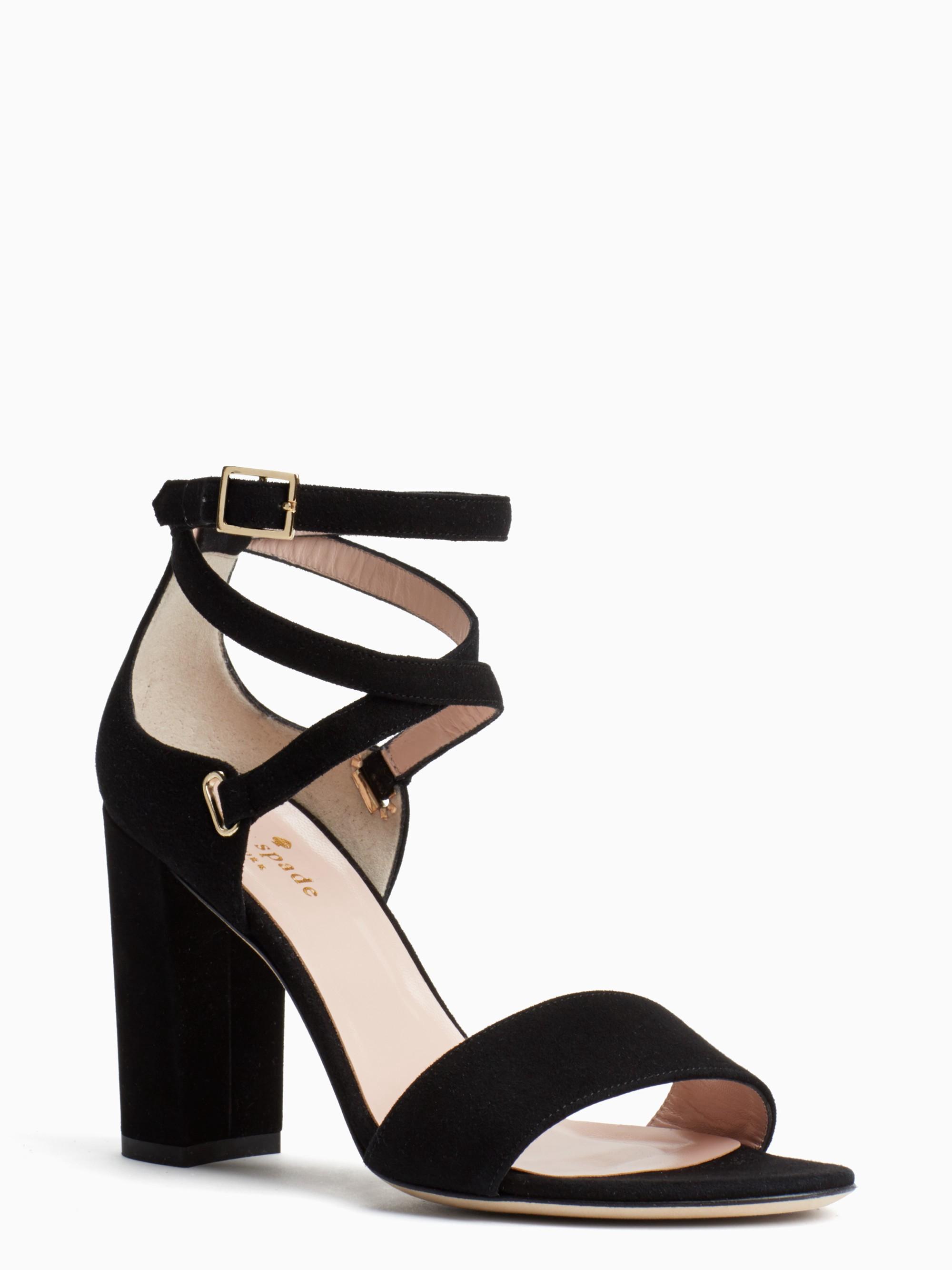 Kate Spade Isolde Sandal In Black