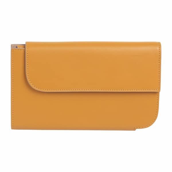 LautĒm Gauss Leather Wallet Siena