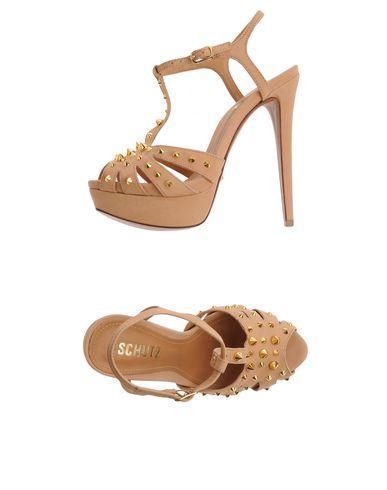 Schutz Sandals In Beige