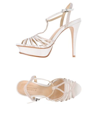 Schutz Sandals In White