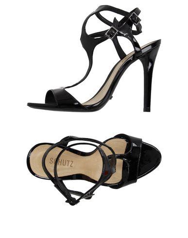 Schutz Sandals In Black