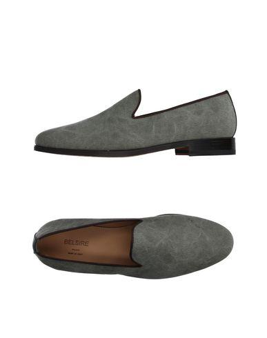 Belsire Loafers In Military Green