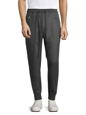 3.1 Phillip Lim Dropped Rise Tapered Sweatpants In Graphite