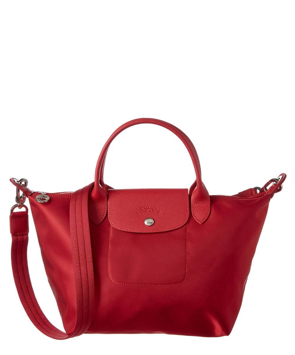 Longchamp Le Pliage Neo Small Top Handle' In Red