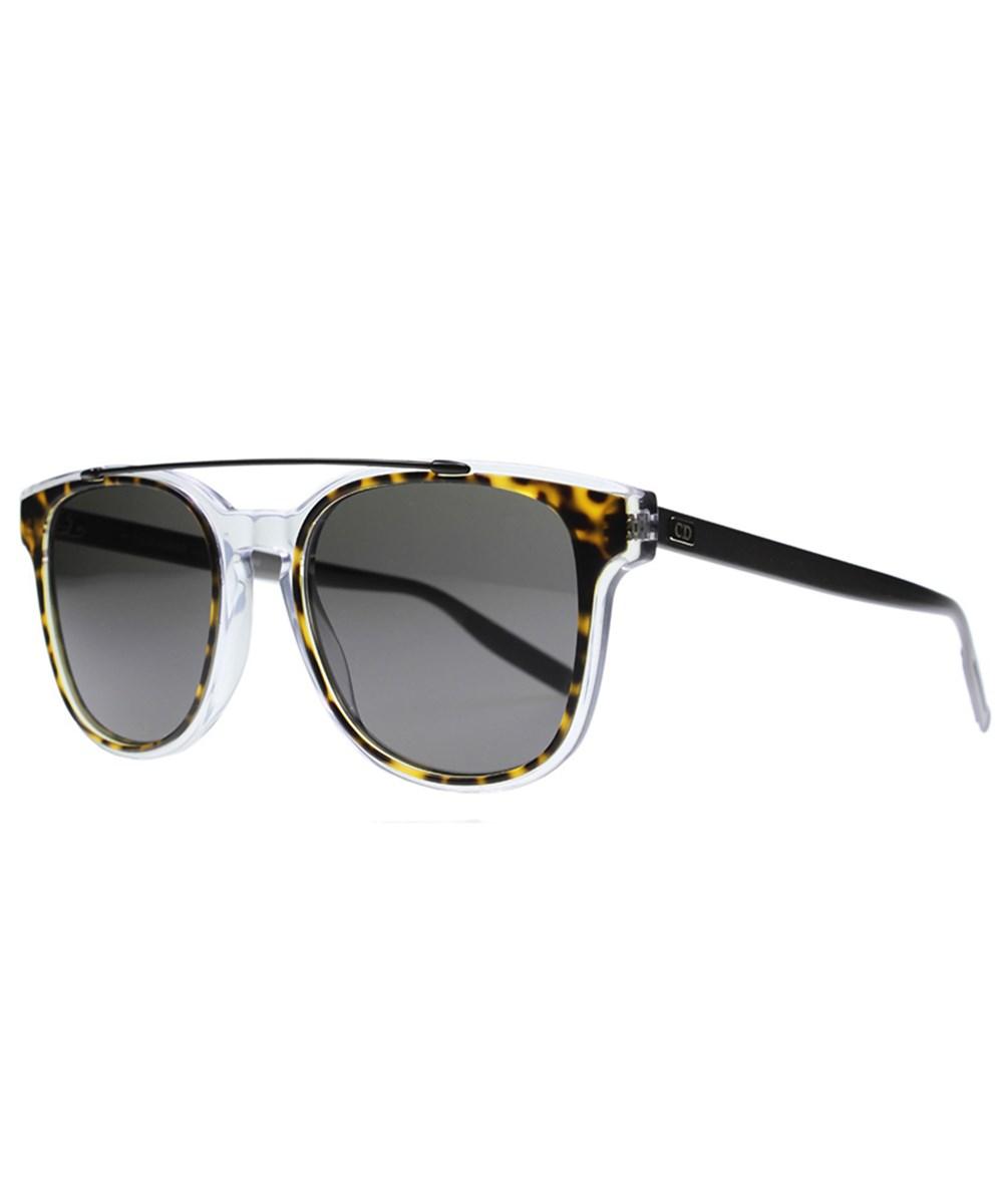 Dior Unisex Blacktie211 Square Plastic Sunglasses In Grey