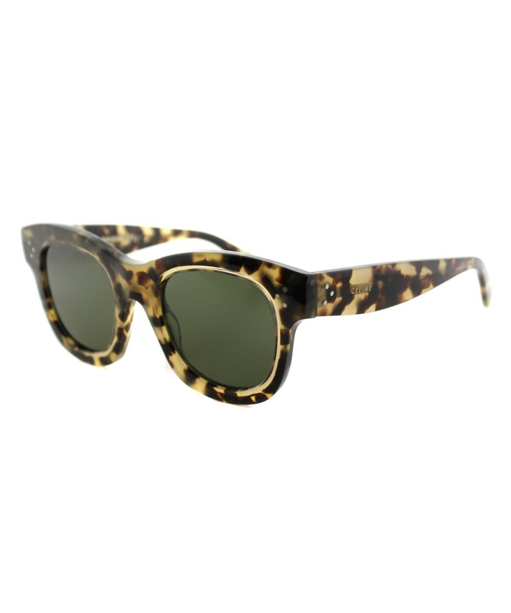 fad73e62b5 Celine Helen Square Plastic Sunglasses In Brown