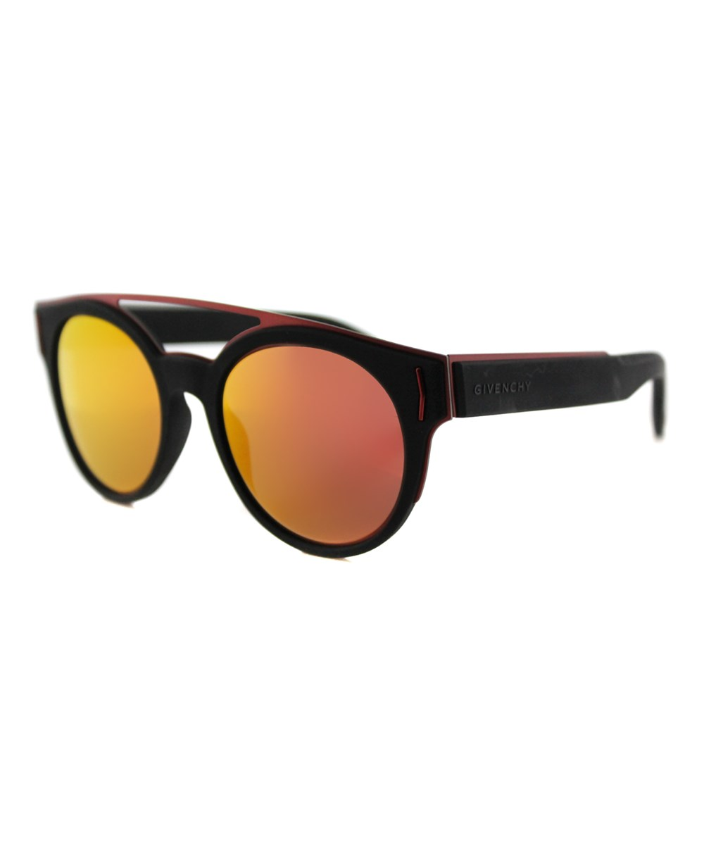 Givenchy Round Plastic Sunglasses In Black
