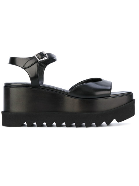 Stella Mccartney Elyse Platform Sandals In Black
