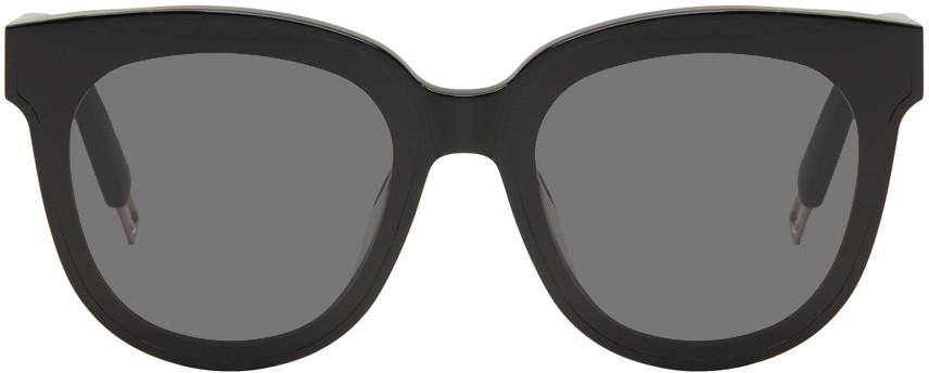Gentle Monster Black In Scarlet Sunglasses
