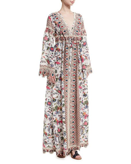 Tory Burch Rosemary Dress In Multicolor