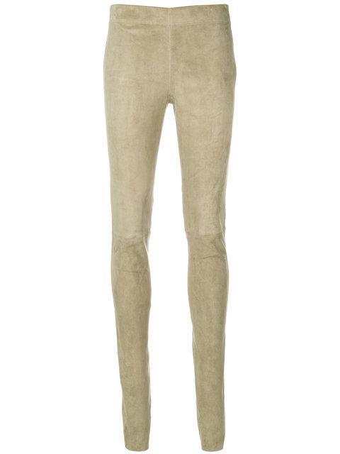 Joseph Skinny Leggings - Green