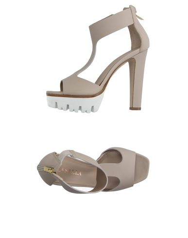 Le Silla Sandals In Beige