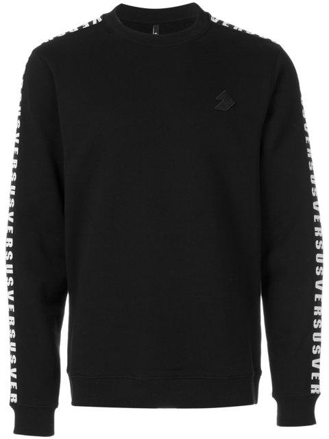 Versus Sweatshirt In Black